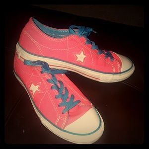 Converse Hot Pink Womens Shoes